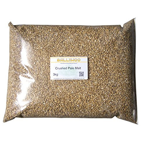Image of Homebrew Beer Making - 3kg Pack Of Balliihoo® Crushed Pale Malt - Maris Otter