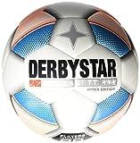 Derbystar Herren Brillant TT Hyper Edition Fußball, Weiß/Orange/Blau, 5