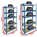 Home Discount Blue Shelves Standard Or Large - inexpensive UK light store.