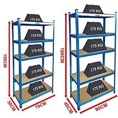 Home Discount Blue Shelves Standard Or Large produced by Home Discount - quick delivery from UK.