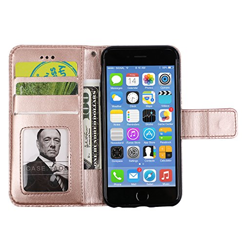 custodia iphone se portafoglio oro