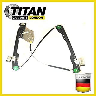 ALPHA TEC Window Regulator For 2/3 Doors Ford Focus MK1 1998-2004 Front Left Passenger Near Side Without Motor