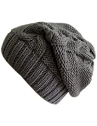 Frost Hats Winter Slouchy Hat Cable Knit Beanie M-2013-23A