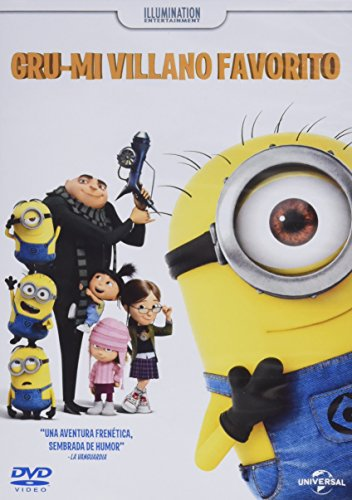 Gru, Mi villano favorito (Despicable Me) Directors: Pierre Coffin, Chris Renaud.(Audio in Englisch, Spanisch und Katalanisch)