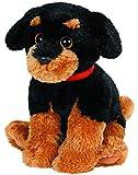 Ty - Cucciolo di Rottweiler Brutus di peluche, 33 cm