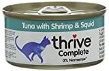 Thrive Cat Food Complete Tuna with Shrimp and Squid, Pack of 6