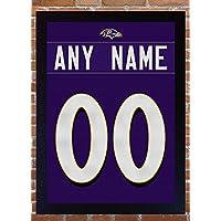 SGH SERVICES Baltimore Ravens Personalizado Personalizar Jersey Camiseta añadir un Nombre añadir un número Ray Lewis