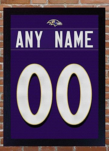 sports shoes e9cf0 0c719 SGH SERVICES Baltimore Ravens Custom Personalizzare Jersey t-Shirt  Aggiungere Un Nome Aggiungere Un Numero Ray Lewis 100% Tela incorniciata