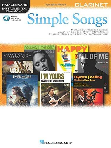 Simple Songs: Clarinet (Hal Leonard Instrumental Play-Along)