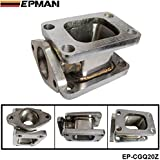 epman T3de T3acier inoxydable 304Turbo Mani Fold Adaptateur + 38mm wastegate Bride de sortie EP cgq20z
