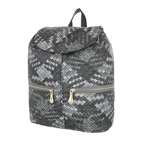 Taschen Schultertasche Grau