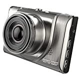 "icefox® 3.0"" FHD Dash Cam, 170° Wide Angle 12MP Car Dashboard Camera with Night Vision, G-sensor, Digital Video Recorder, WDR, 6-Glass Lens and Motion Detection"