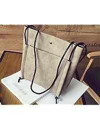 Simple moda bolso bolsa de ocio,beige