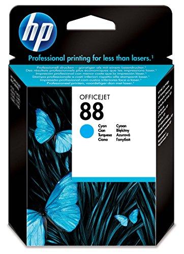 HP N°88 Cartouche d'encre d'origine Cyan