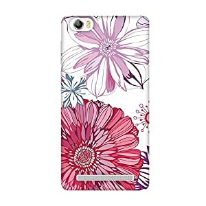 FASHEEN Premium Designer Soft Case Back Cover for Lava V5