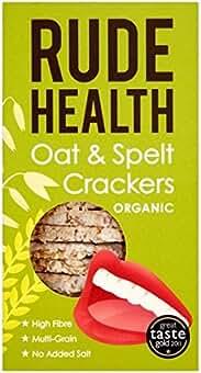 Rude Orgánica de Salud de avena y espelta 130 g Galletas