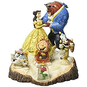 51OdjSXqP L. SS300  - Disney Traditions Carved by Heart Beauty and Beast Figurine