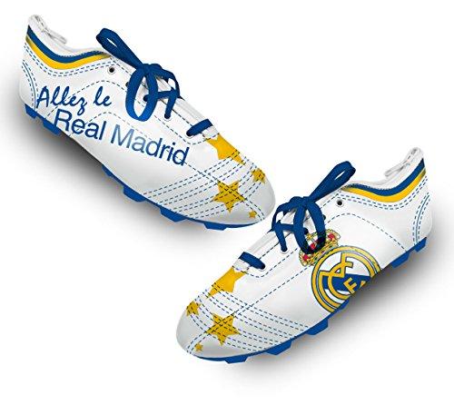 Real Madrid–Estuche Unisex para niño, Color Azul