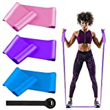 MMTX Fitnessband Theraband Gymnastikband lang Fitnessbänder Resistance Band Widerstandsbänder mit...