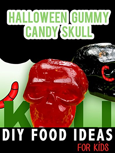 Halloween Gummy Candy Skull: DIY Food Ideas for Kids ()