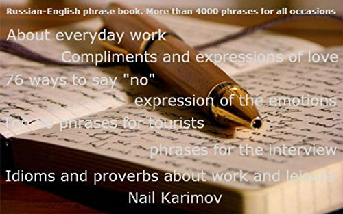 English-Russian phrasebook. More than 4000 phrases for all occasions (English Edition)