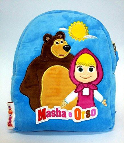Zaino asilo masha e orso originale zainetto fantasia 3 scuola new offerta 2016