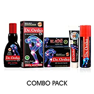 Dr Ortho Combo Pack for Pain Relief - 500 g