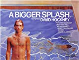 A Bigger Splash Plakat Movie Poster (27 x 40 Inches - 69cm x 102cm) (1974) Foreign