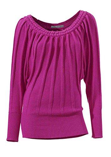 Ashley Brooke Damen-Pullover Pullover Pink Größe 40