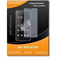 """2 x SWIDO® Protector de pantalla Homtom HT5 Protectores de pantalla de película """"AntiReflex"""" antideslumbrante"""