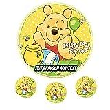 Tortenaufleger Geburtstag Tortenbild Zuckerbild Oblate Motiv: Disney Winnie Pooh (Oblatenpapier)