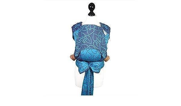 Taille bébé  Fidella Fly Tai - Mei Tai Porte-bébé Coeur -pourpre et  turquoise-  Amazon.fr  Bébés   Puériculture c9ac288150d