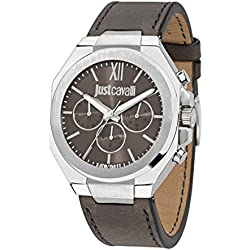 Just Cavalli Men's Watch Strong Analog Quartz Leather R7251573002