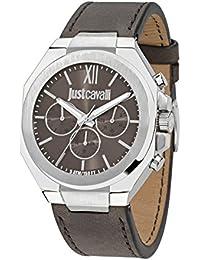 JUST CAVALLI Herren - Armbanduhr STRONG Analog Quarz Leder R7251573002