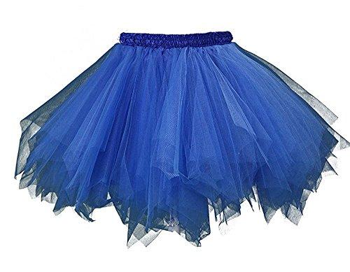 Beyonddress Hochzeit Wedding Unterrok Underskirt Kurz Retro Petticoat Ballett Blase Tutu Ball Kleid(32 Farben) (Kleider Kostüm Ball)