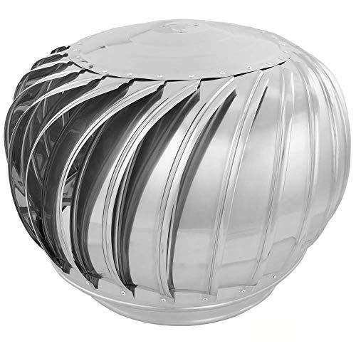 Primematik - comignoli girevoli per estrazione di fumi cappello zincato eolico per camini di 350 mm di diametro