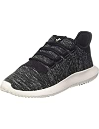 competitive price bc3b3 db294 adidas Originals Tubular Shadow Knit C Noir Textile Junior Formateurs  Chaussures