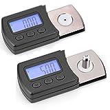 VBESTLIFE LCD Digital Cartridge Stylus Tracking Force Messgerät Skala 0,01 g mit 5G Kalibriergewicht für Vinyl Record/Schallplatte