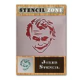 JOKER Batman Charakter Gesicht Mylar Airbrush Gemälde Art Wand Crafts Schablone 1 A3 Size Stencil - Medium