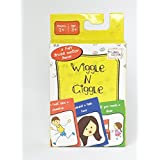 Wiggle N Giggle Travel Card Game - A Fun Gross Motor Skill Development Game, Uses Animal Movements