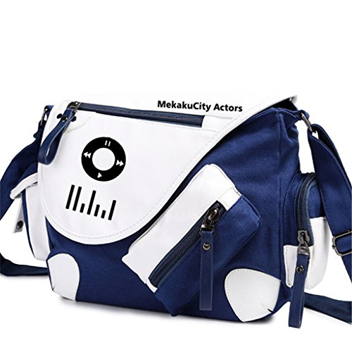 Yoyoshome giapponese anime Cosplay zaino Zaino Crossbody messenger bag borsa a tracolla nero Fairy Tail 1 Kagerou Project 2