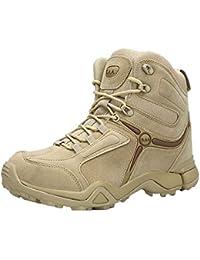 Logobeing Zapatilla Hombre Aire Libre y Deporte Botas de Senderismo Botines Tácticas Zapatos de Deportivos Botas…