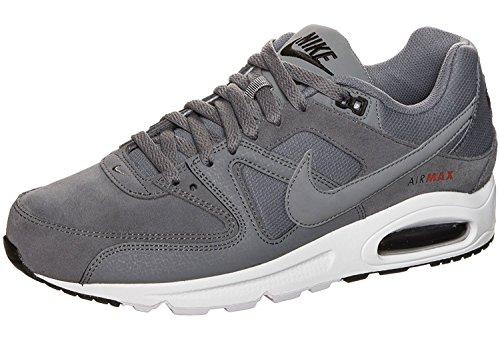 Nike Air Max Command Prm, A Collo Basso Uomo, Grigio (Cool Grey/Cool Grey/Black/Mx Orange), 42.5 EU