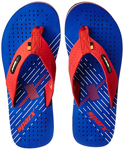 Sparx Men's Blue and Red Flip Flops Thong Sandals - 6 UK/India (39.33 EU)(SF0537GBLRD)  available at amazon for Rs.263
