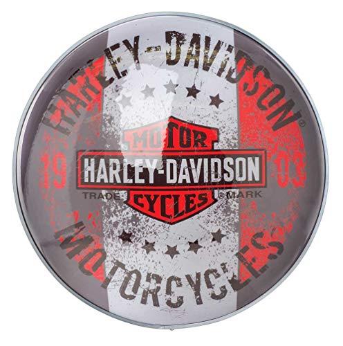 Harley-Davidson Motorcycles Bar & Shield Distressed Dome Pub Light HDL-15630 -