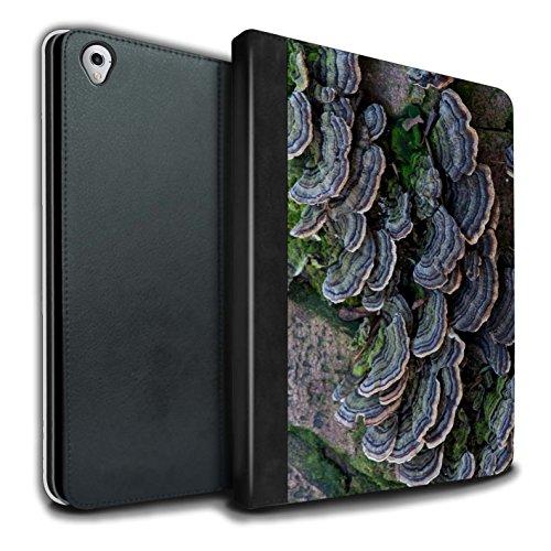 STUFF4 PU-Leder Hülle/Case/Brieftasche für Apple iPad Pro 9.7 tablet / Fungus Muster / Pflanzen/Blätter Kollektion Haut Fung