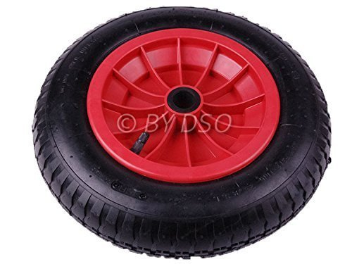 Replacement Wheel for Wheelbarrow Launching Trolley Cart 350 x 85 mm RM026 by Toolzone