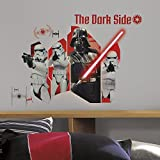 RoomMates 80 x 6,5 x 6,5 cm Darth Vader Storm & Storm Troopers Star Wars Episode VII Wand Aufkleber