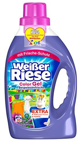 Weißer Riese Color Gel Bergwiesenfrische, 20 Waschladungen