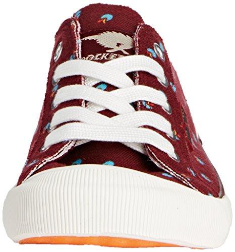 Rocket Dog JAZZIN, Low-Top Sneaker donna Marrone (Braun (BRICK KAW))